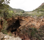 Tonto Natural Bridge Exit from Viewpoint